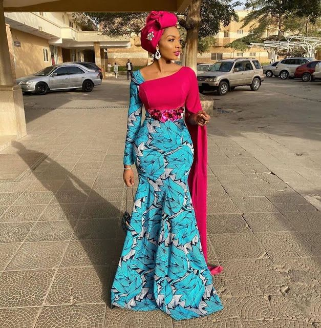 latest ankara long gown styles for ladies