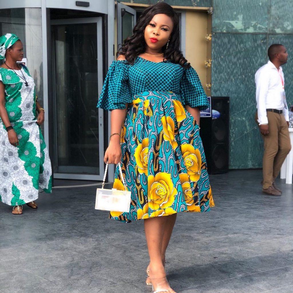 latest ankara gown style