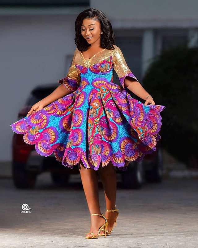 Ankara gown style