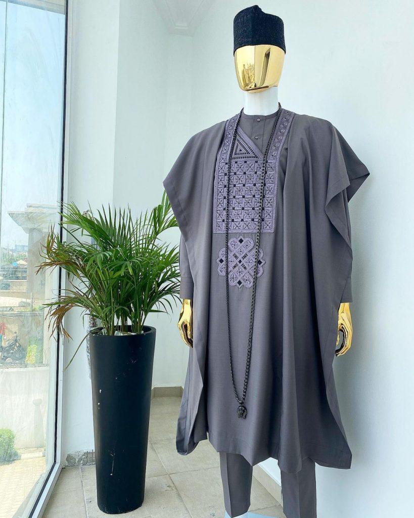 latest agbada style