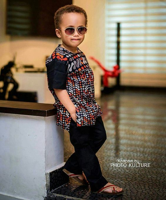 ankara style for male child