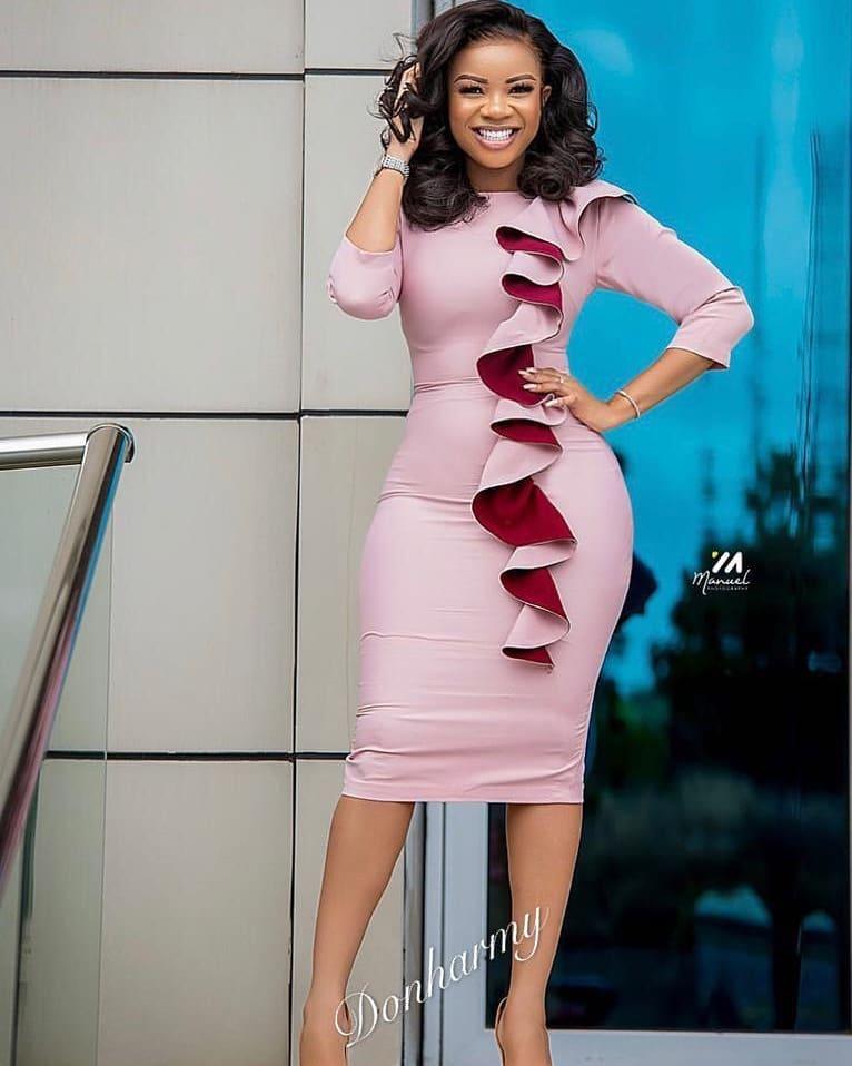 Office African Dress
