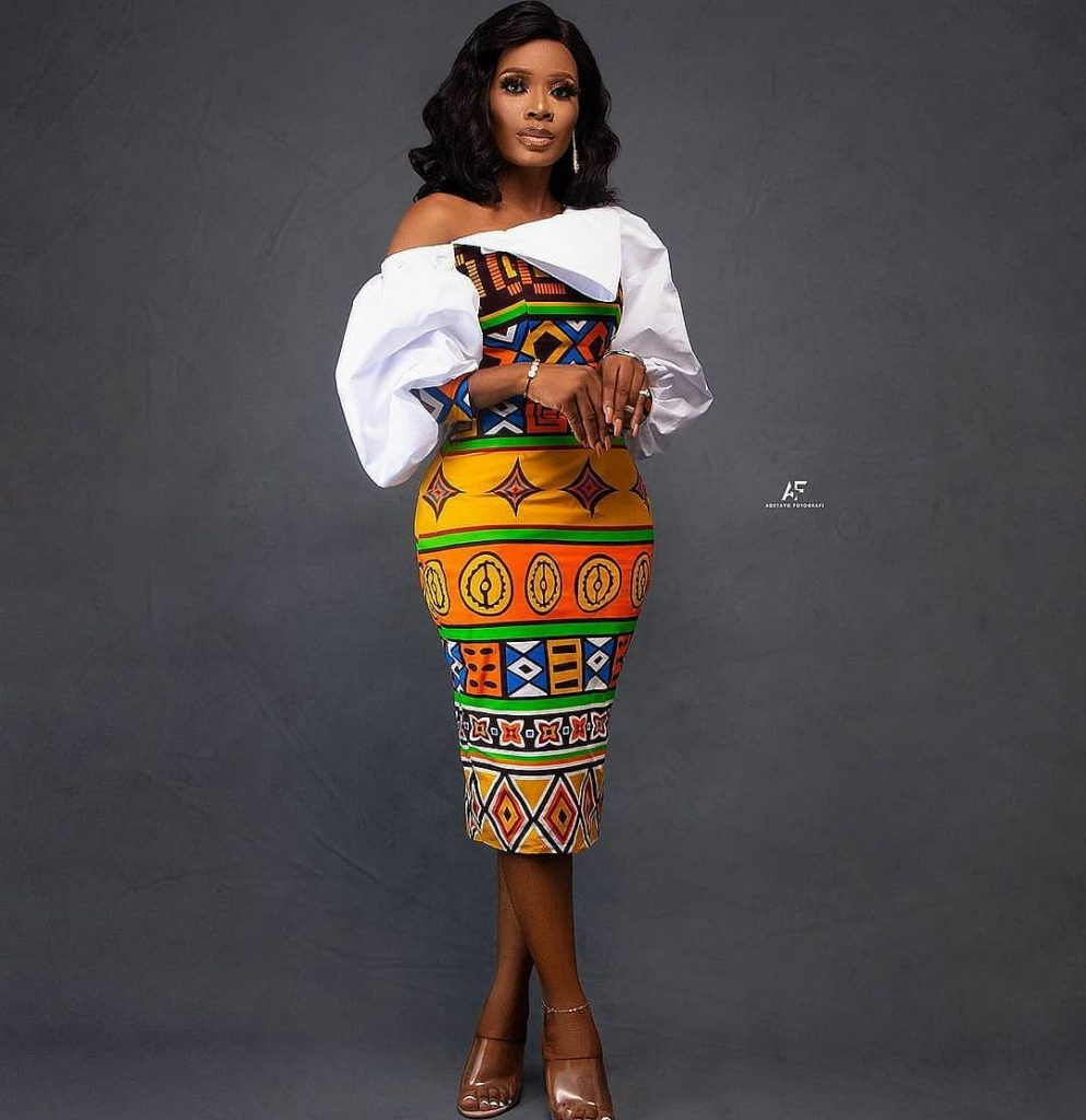 nkara Styles Gown for Ladies