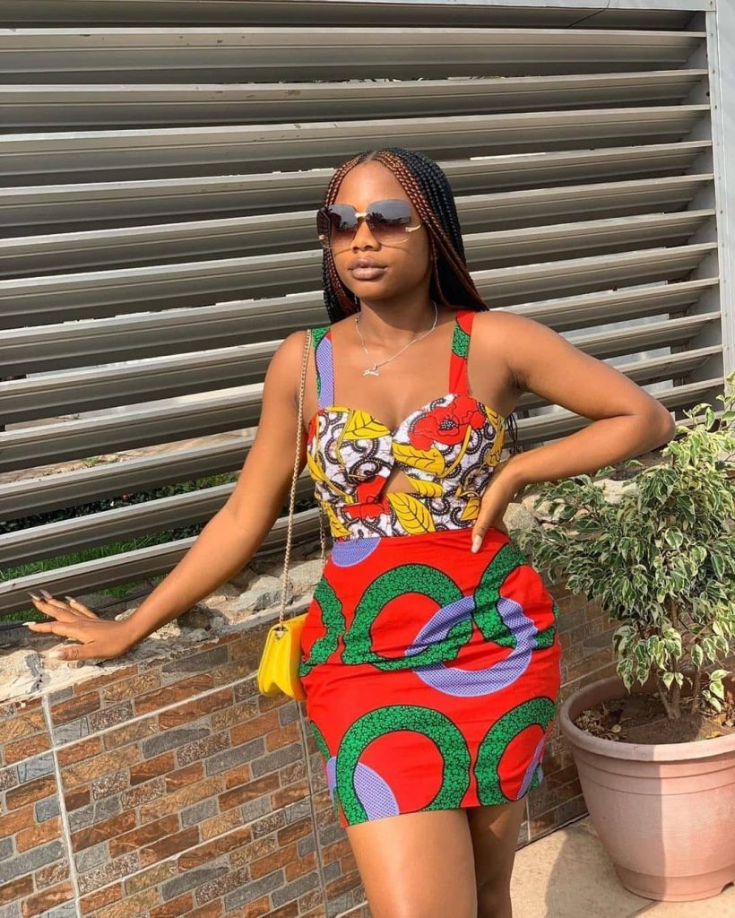 Ankara Style Gown