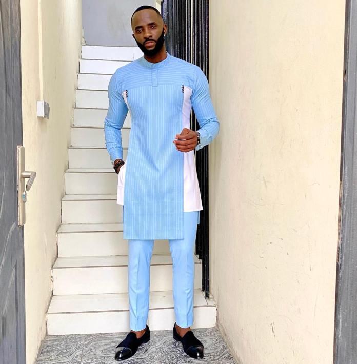 Long sleeve senator style for men