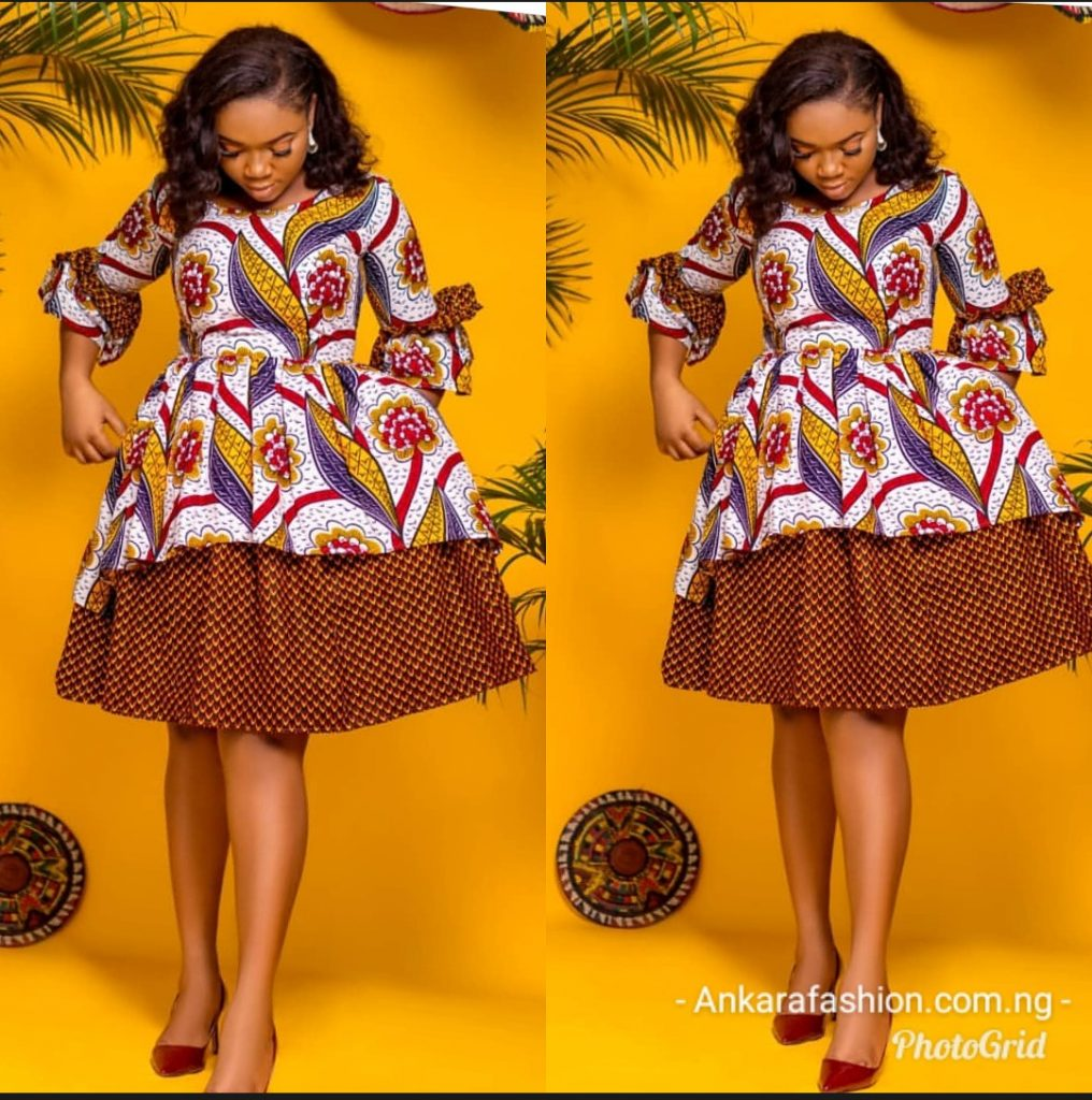 ankara styles gown for ladies
